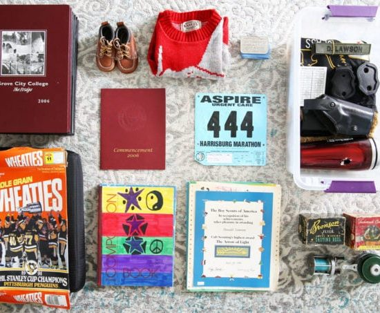 Clearing Out Sentimental Clutter